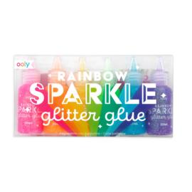 Ooly | Glitter Glue | Rainbow Sparkle