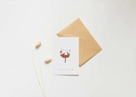 Kaart | Studio Nadine | Welcome little one