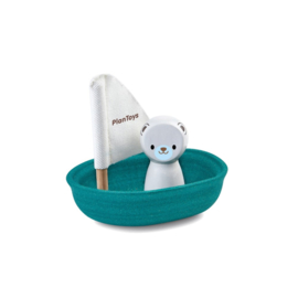 Plantoys | Sailing Boat | Polar Bear