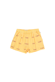 Tiny Cottons | Tiny Pleated Short | Yellow - Red