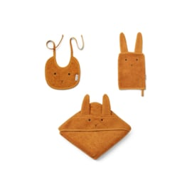 Liewood | Adele Terry Baby Package | Rabbit | Mustard