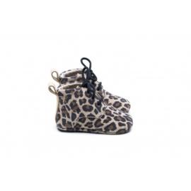 Mockies Classic Boots | Leopard Gold