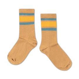 Repose Ams | Socks | Warm Sand Multi Stripe