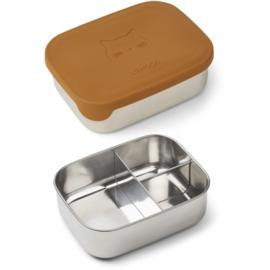 Liewood | Arthur lunchbox | Cat Mustard