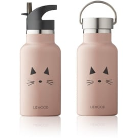 Liewood | Anker Water Bottle | Cat Rose