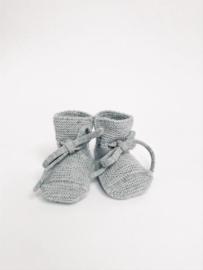 Hvid | Booties | Grey Melange