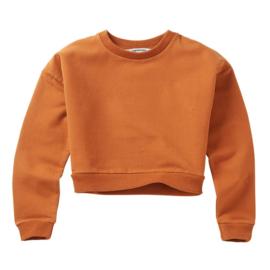 Mingo | Cropped Sweater | Dark Ginger