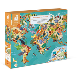 Janod   Puzzle Les dinosaures