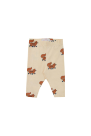 Tiny Cottons | Foxes Pants | Cream - Brown