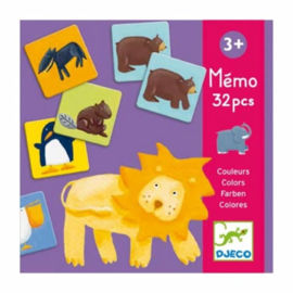 Djeco | Educational games | Colour animals memo