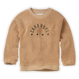 Sproet & Sprout   Sweatshirt Terry Carousel   Nougat