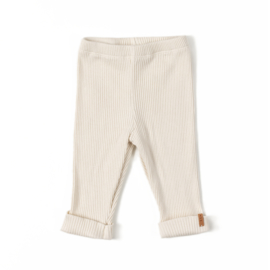 Nixnut | Rib Legging | Cream