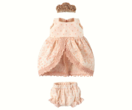 Maileg Wardrobe Princess Dress ,rose