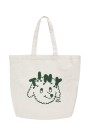 Tiny Cottons | Worldtour Merchandise Bag | Beige - Dark Green