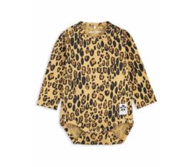 Mini Rodini | Basic Leopard LS Body | Beige