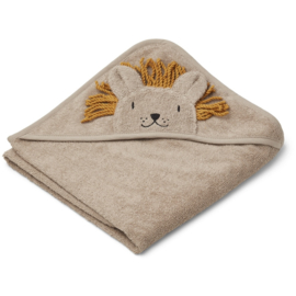 Liewood | Albert hooded towel | Lion