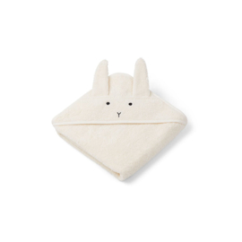 Liewood | Albert Hooded Towel | Rabbit | Creme De La Creme