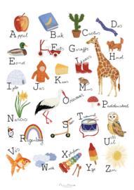 AAAA Studio Nadine Illustraties | Poster ABC