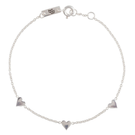 Lennebelle | You are loved bracelet silver mother