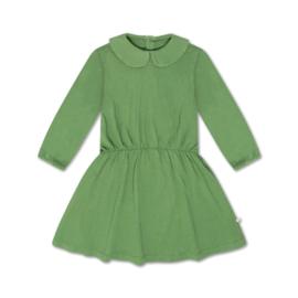 Repose Ams   Peter Pan Dress   Hunter Green