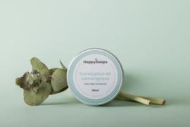 HappySoaps | Natuurlijk Deodorant | Eucalyptus + Lemongrass
