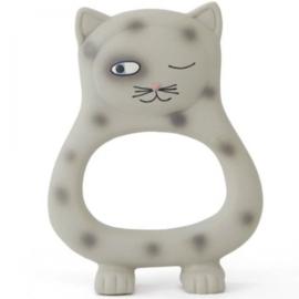 Oyoy I Benny cat baby teether I grey
