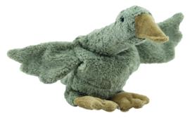 Senger   Cuddly Animal   Goose small grey