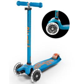 Maxi Micro Step I Deluxe | Aqua Oranje LED