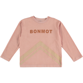 Bonmot | T-Shirt Mountains | Tan Rose