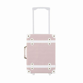 Olli Ella See-Ya Suitcase - rose