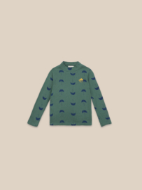 BoboChoses | Umbrella All Over Turtle Neck T-Shirt | Greener Pastures
