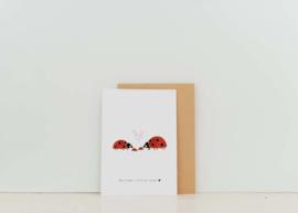 Kaart | Nadine Illustraties | Welcome little ones