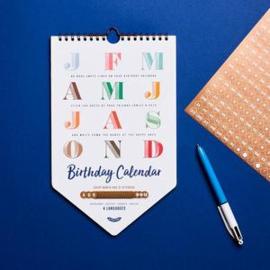 Stratier | Happy Birthday Calendar