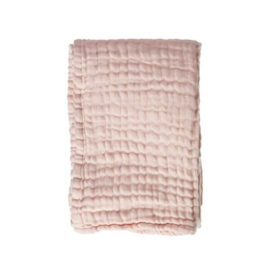 Mies & Co | Soft mousseline blanket cradle | Soft Pink