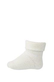 MP Denmark | Ankle Cotton Plain Socks | 432 Snow White