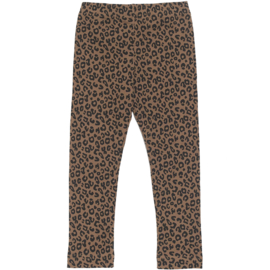 Maed for Mini | Legging | Chocolate Leopard