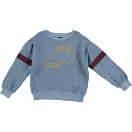 Bonmot | Sweatshirt Walrus | Arctic Blue