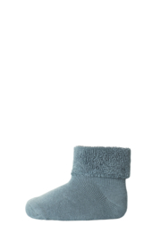 MP Denmark | Ankle Cotton Plain Socks | 109 Stormy Sea