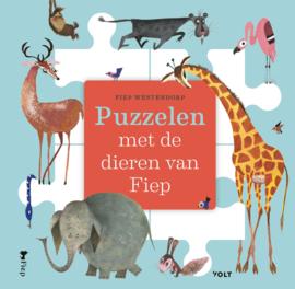 Puzzelen met de dieren van Fiep