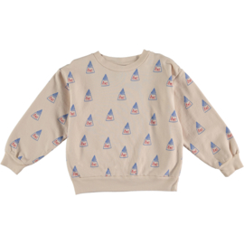 Bonmot | Sweatshirt All Over bmt | Fog