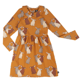 CarlijnQ | Rabbits | Skater Dress with Collar