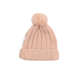 Maed for Mini | Knit Hat | Peach Parrot