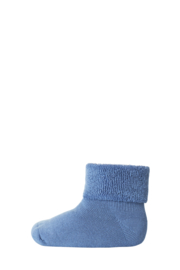 MP Denmark | Ankle Cotton Plain Socks | 1469 Denim Blue