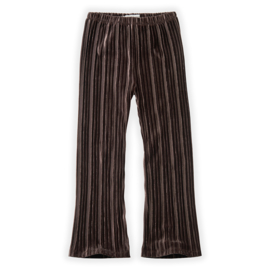 Sproet & Sprout | Pants Velvet Pleats | Chocolate