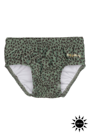 Soft Gallery | Miki Swim Pants | Oil Green