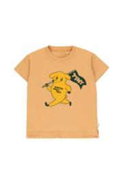 Tiny Cottons | Dog Tee | Camel - Yellow