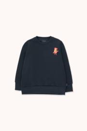 Tiny Cottons | Tiny Pear Sweatshirt | Navy - Burgundy