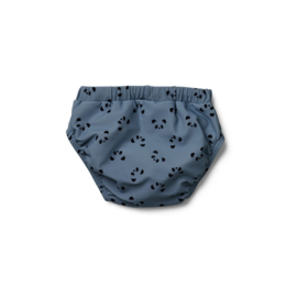 Liewood | Frej Baby Boy Swim Pants | Panda | Blue Wave