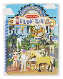 Melissa&Doug | Puffy Stickerboek | Paarden