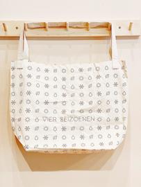 Vierseizoenen Cotton Shopper | Naturel